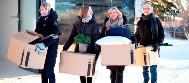 költöztetés télen